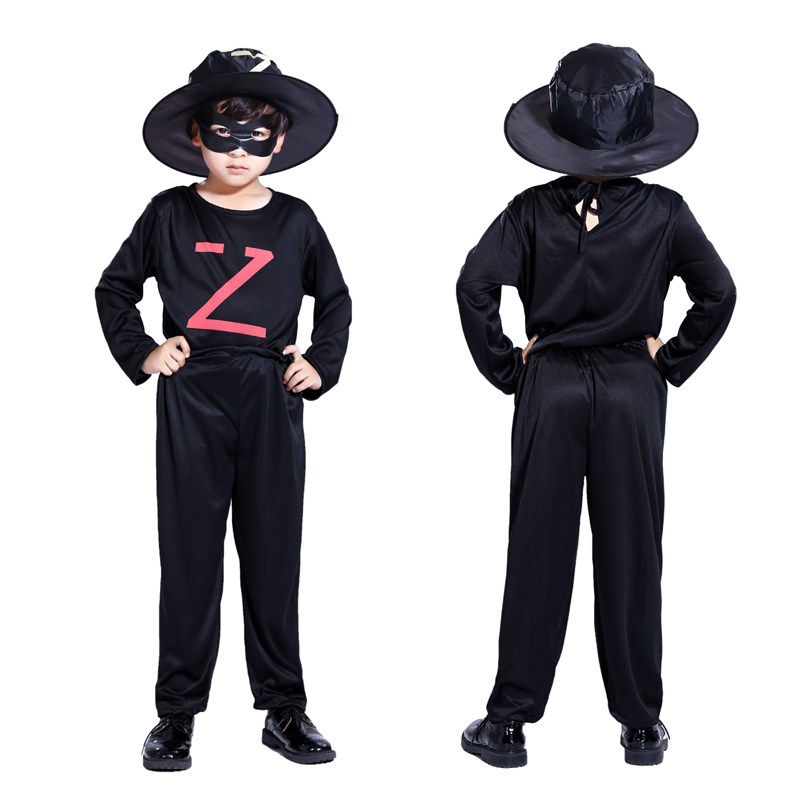 Halloween childrenu0027s clothing boys Zorro Masked knight costume masquerade Cosplay clothes Night clothes-in Boys Costumes from Novelty u0026 Special Use on ...  sc 1 st  AliExpress.com & Halloween childrenu0027s clothing boys Zorro Masked knight costume ...