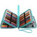168 слотов супер большой емкости ручка сумка с застежкой-молнией ремешок для Prismacolor акварельные карандаши  цветные карандаши  Marco Pe