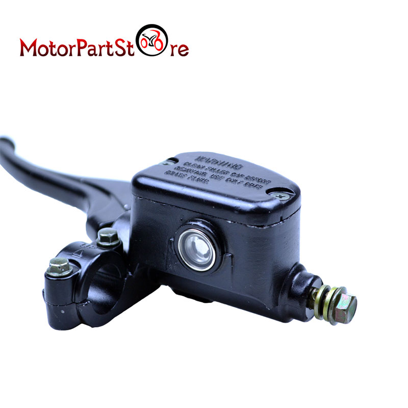 Car-Styling Brake Master Cylinder Lever ATV Front Left Brake Master Cylinder For POLARIS SPORTSMAN 400 500 550 600 700 800 @30 citall black left front brake master cylinder lever fit for polaris trail boss 250 350l dot3 brake fluid