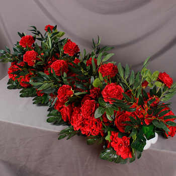 Angela flower Artificial & Dried Flowers Red C