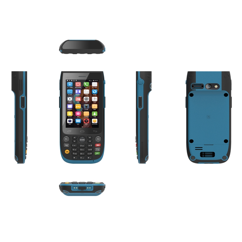 Sincoole 4.0 inch Android 7.1 Exquisite Appearance Industrial Rugged Handheld terminal  Keysboard  NFC SH57-2D