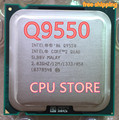 Original lntel Q9550 CORE 2 QUAD Q9550 CPU Processor 2.83GHz /12MB L2 Cache/FSB 1333 LGA 775 (working 100% Free Shipping)