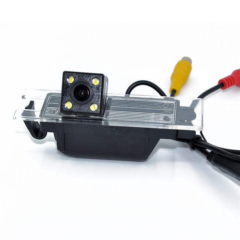 Nightvision 4 LED SONY CCD Chip Vista trasera del auto Cámara para - Electrónica del Automóvil