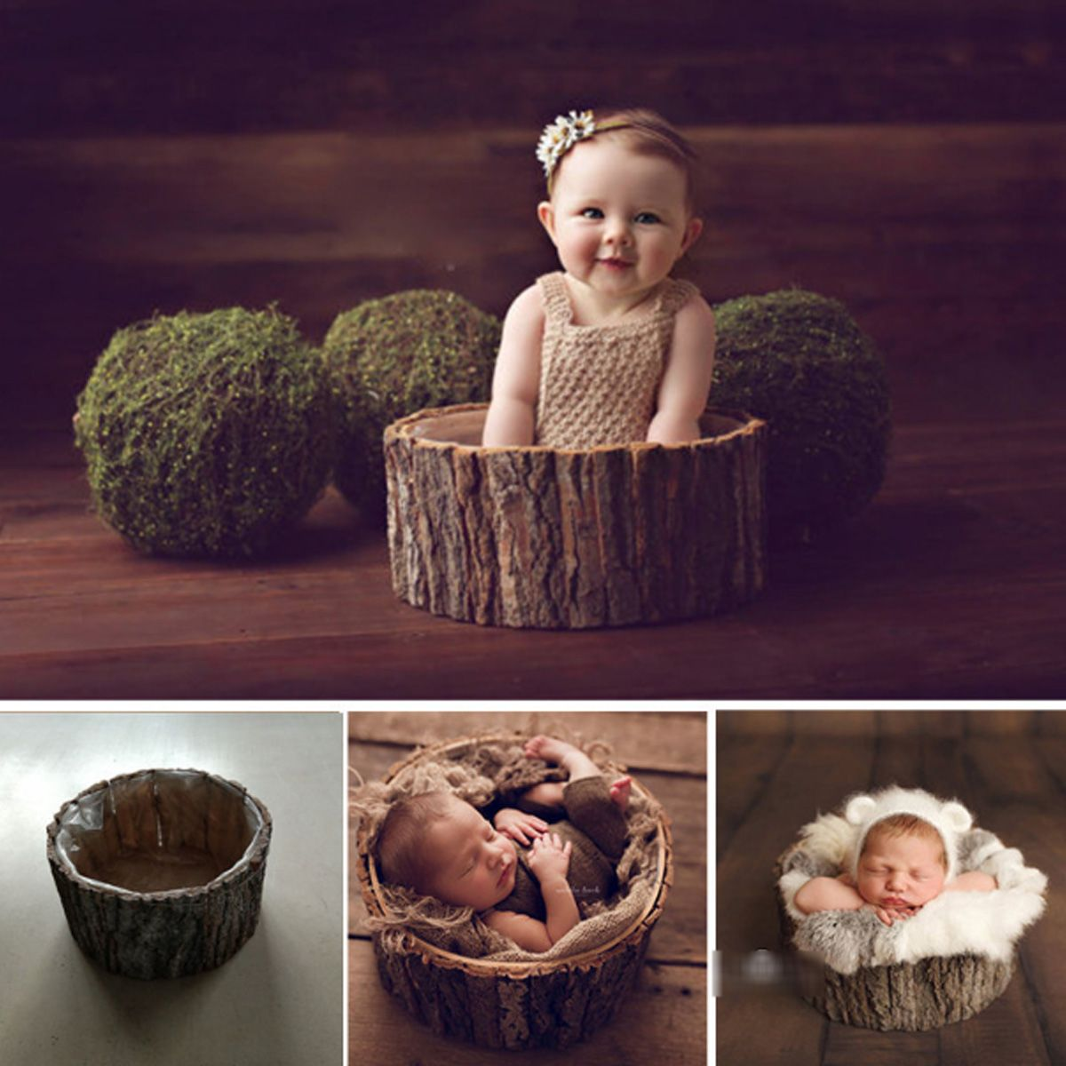 Newborn Photography Props Basket Fashion Baby Wool Blanket  Photo Props Backdrop Background Studio Shoots GiftNewborn Photography Props Basket Fashion Baby Wool Blanket  Photo Props Backdrop Background Studio Shoots Gift