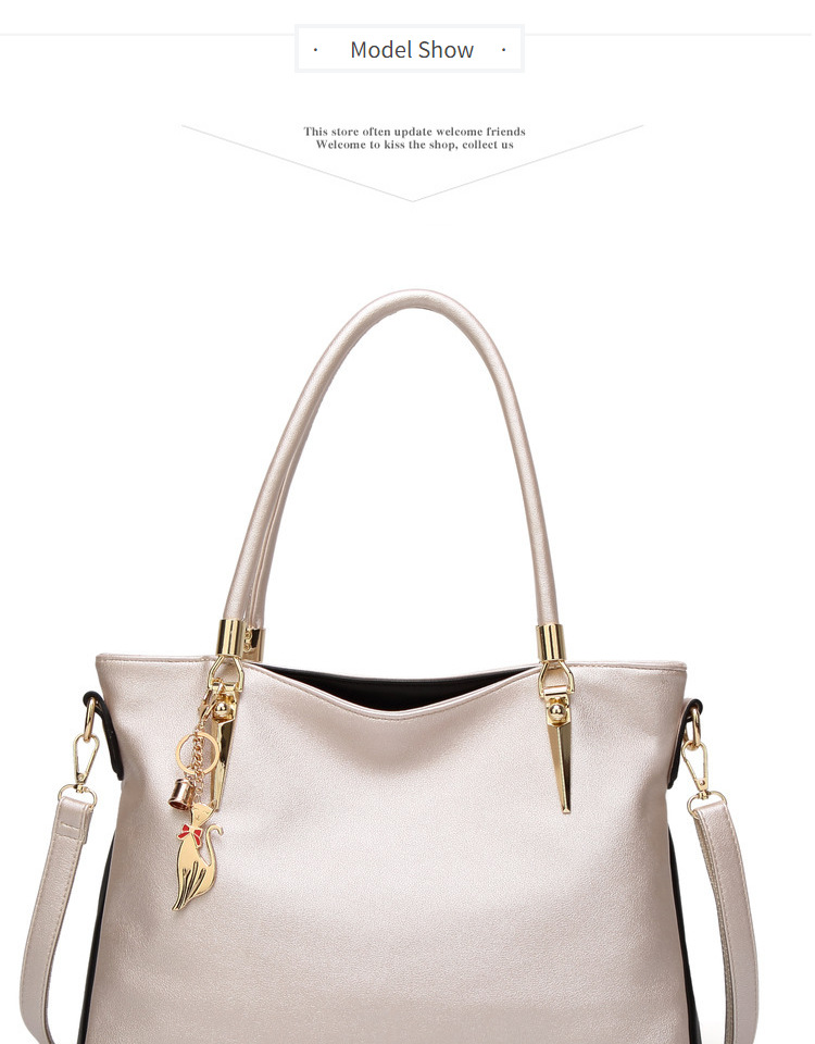 65acba38e45f Luxury Handbags Women Bags Designer Tote Bag Female 2018 Office Work  Shoulder Bag Fashion Ladies Leather Handbags A4 Gold red black beige
