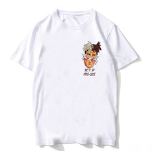 New xxxtentacion t shirt streetwear Man rap xxxtentacion tshirt hip hop T-Shirt Summer Fashion Casual T-shirt For Male Female