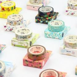 Paisagem natural bonito lotkawaii flor comida animais decorativo washi fita diy scrapbooking mascaramento fita escolar material de escritório