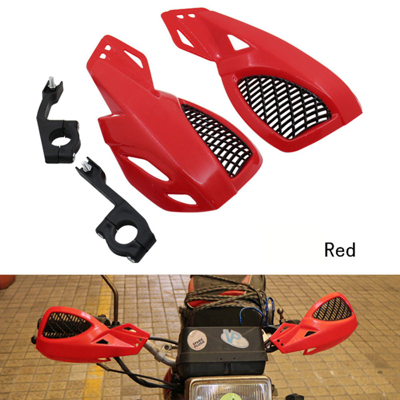 Motorcycle-Hand-Guards Dirt-Bike ATV Motocross MX with Mount-Kit Black Blue Red White