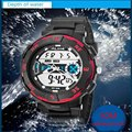 New Digital Watch Men Analog Watch Silicone Analog Digital LED Date Alarm Men's Sports Outdoor Wrist Military Watch