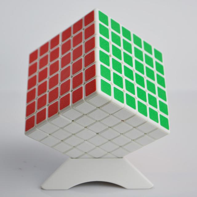 Shengshou velocidad 6 x 6 x 6 Cubo mágico Puzzle pegatinas Cubo juguetes de los niños