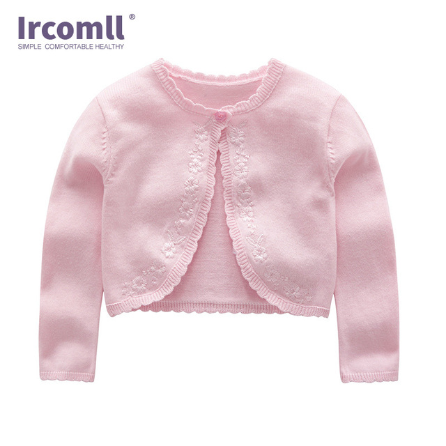 e74580d64625 Ircomll Newest Baby Girls Knitted Sweater Jacket Fashion lovely ...