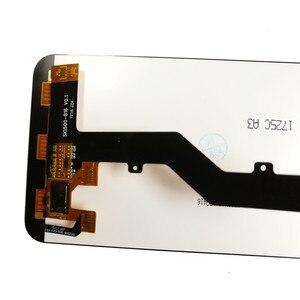Image 4 - Per ZTE Lama A520 Display LCD + Touch Screen Replacment Digitizer con telaio di Montaggio Del Pannello del Telefono Per ZTE A520 UN 520 display