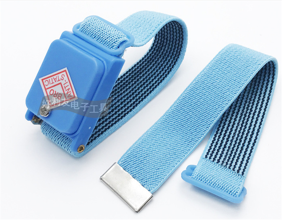 Anti-static Cordless Wireless Anti Static Esd Discharge Cable Band Wrist Strap Slim New Ptsp