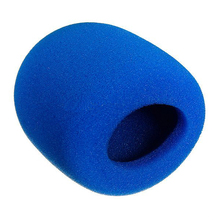 MAHA Scorching 10Pcs Stage Hand Microphone windshield foam coated Mic Karaoke DJ Blue