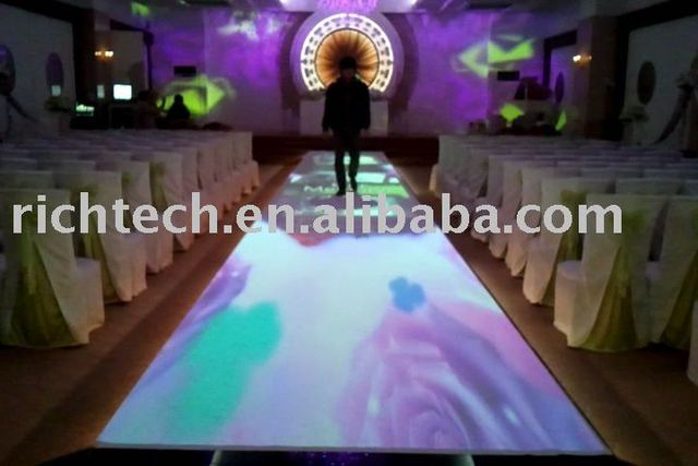 Interactive floor projector system for wedding, advertising, event, exhibition,etc