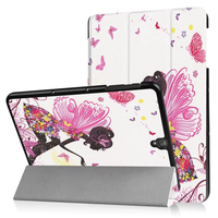 For Samsung Tab S3 T820 Case Painted Bracket Funda Case For Samsung Galaxy Tab S3 9