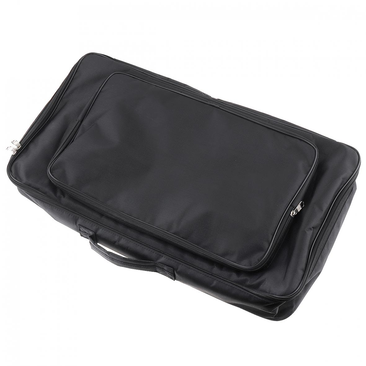 Image 4 - 60*33*10cm Black Universal Portable Guitar Effects Pedal Board Gig Bag Soft Case Big Style  DIY Guitar Pedalboard-in Guitar Parts & Accessories from Sports & Entertainment