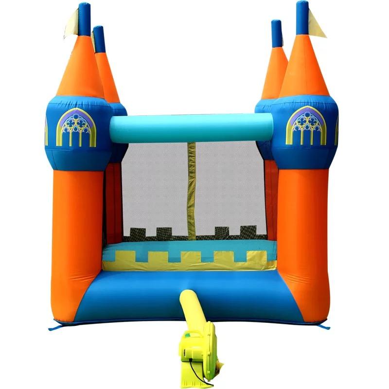 HTB1.ZQCPXXXXXazXpXXq6xXFXXXk - Mr. Fun Inflatable Bouncer house Trampoline Inflated Castle Toy with Blower