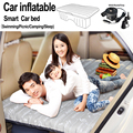 DHL Free Shipping!!!Car Inflatable Bed Mattress Car Sleep Bed Car Inflatable Cover Mattress seat USB Car Charge(oxford music)