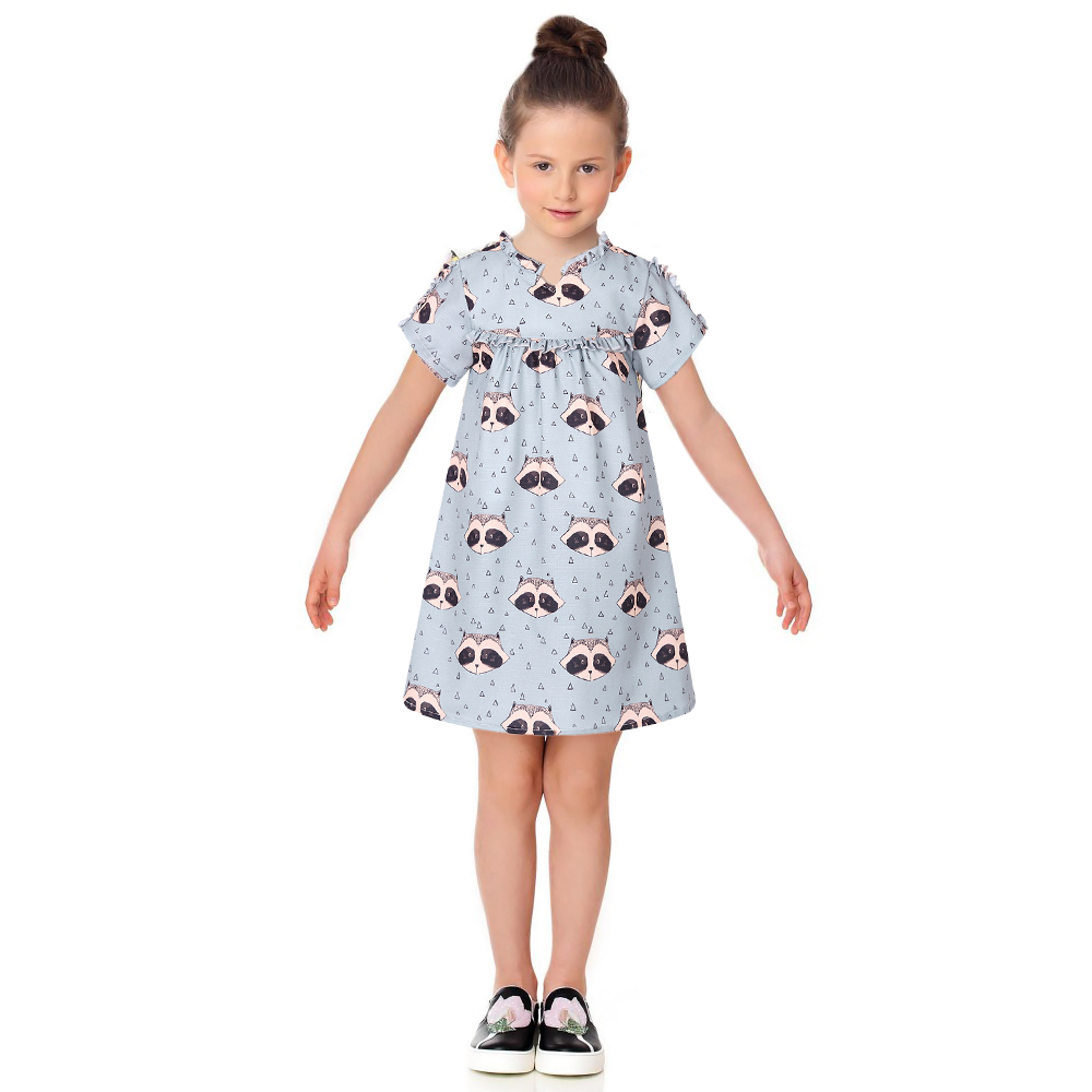 Подробнее о Girls Summer Dress Kids Clothes 2017 Brand Princess Dress Bear Print Robe Fille Mariage Baby Girls Costumes Children Dress baby girl dress 2016 brand girls summer dress children clothing lemon print kids dresses for girls clothes robe princesse fille