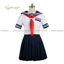 Kisstyle Moda Bleach Lisa Yadōmaru Verano Uniforme COS Ropa Cosplay, Modificado Para Requisitos Particulares Aceptado