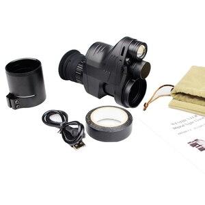 Image 5 - Polowanie taktyczne cyfrowy luneta z noktowizorem w dzień, jak i w nocy zakresy mocowanie za pomocą kamery funkcja