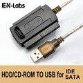 Es-Labs 3 En 1 USB 2,0 a IDE/SATA 480 , disco duro de 3,5 HDD SSD MB/S 2,5 interfaz de datos Cable adaptador convertidor