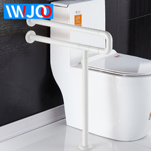 Bathroom Handrail Stainless Steel Toilet Handrails Disabled Wall Mount Grab Rail Bathtub Shower Safety Bar Anti Slip Handle elderly bathroom toilet handrail disabled barrier sitting handrail pregnant woman safe handrail