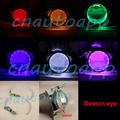 Demon Eye Led Light Devil Eyes For 3 Inch / 2.5 Inch Car Headlight Projector Lens / Motorcycle HID Xenon Projector Lens