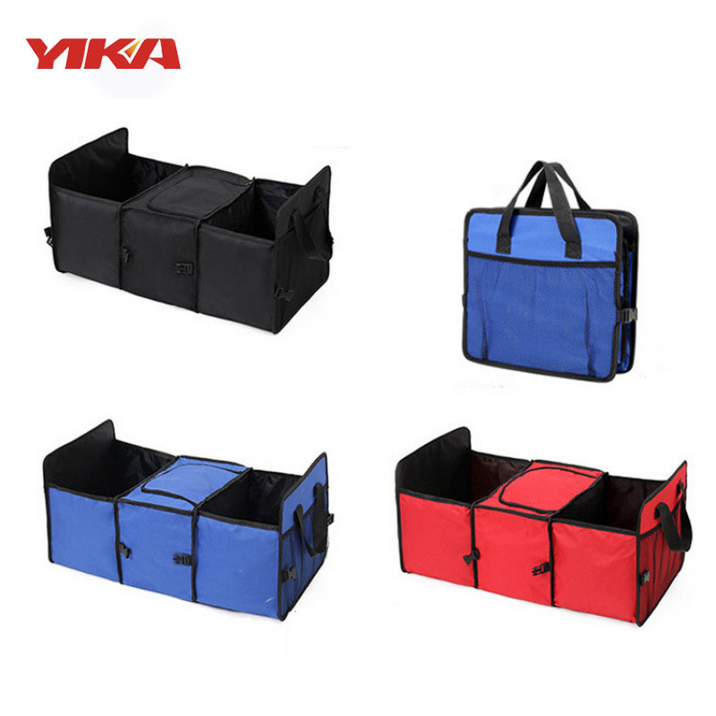 2017 Quality Trunk Box Stowing Tidying With Net Stay Warm Car Organizer Car Ice Pack Oxford