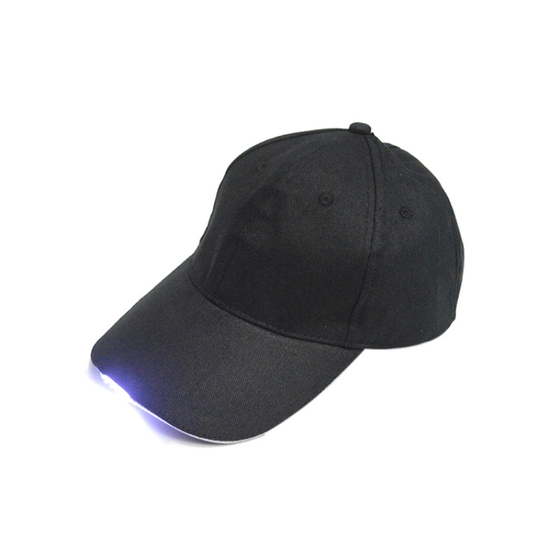 LED Flashlight Fishing Hat Sport Baseball Caps Night Walking Hiking Hunting Cycling  Hats 3 Colors