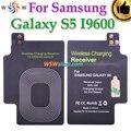 Para samsung galaxy s5 i9600 qi carregador sem fio receiver com ti ic de alta qualidade qi carregador sem fio receiver qi adaptador de carregamento