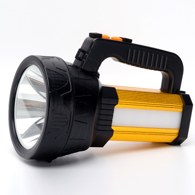 Outdoor Searching Lamp Portable 160W Super Bright Led Flashlight Handhold Camping Spotlight Emergency Night Light Fishing uniquefire uf 1200 super bright cree u2 lamp flashlight light from outdoor hiking night fishing hunting led flashlight