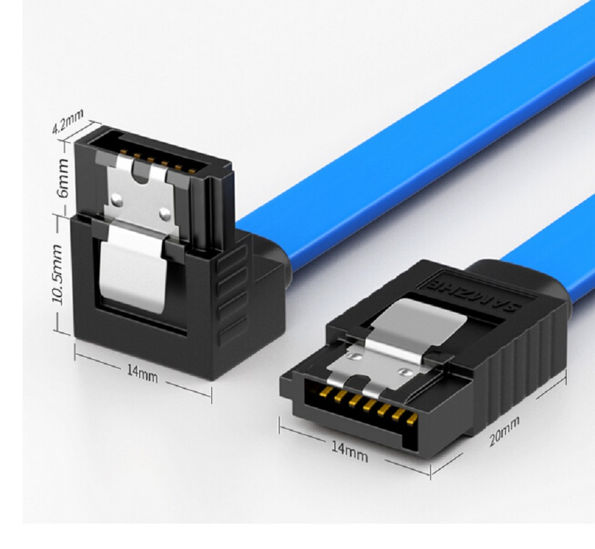 Sata Cable 3 0 SSD HDD 2 5 Sata III Straight Right Angle Hard Disk Drive  Cable For ASUS Gigabyte Hard drive data cable