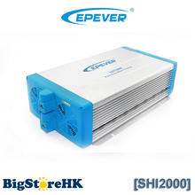 2000W  High frequency EPEVER 48VDC to 220VAC Pure Sine Wave Inverter SPWM Technology Switched Output Voltage and Frequency