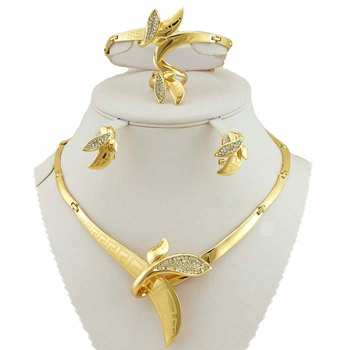 buy gold fashion jewelry sets african