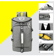 Multifunctional Backpack Or Tote Sports Gym Bag with Shoe Storage