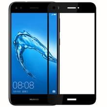 Đối với Huawei P9 Lite Mini Tempered Glass 9 H 3D Full Bao Gồm màn hình Màn Hình chống Cháy Nổ Protector Film Đối Với Huawei P9 Lite Mini