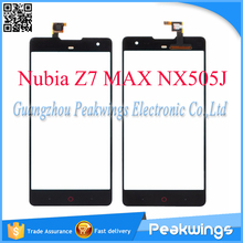 For ZTE Nubia Z7 MAX NX505J Touch Screen Digitizer Panel Shipping with Track
