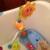 Colorido de alta qualidade para Crianças Bebê Brinquedo Do Banho Torneira Do Chuveiro Banho de Girassol Jogar Água Brinquedo de Aprendizagem para o miúdo Presente Pacote de Varejo