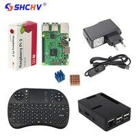 Made In UK Raspberry Pi 3 Model B Case 2 4GHZ Wireless Keyboard 2 5A Power