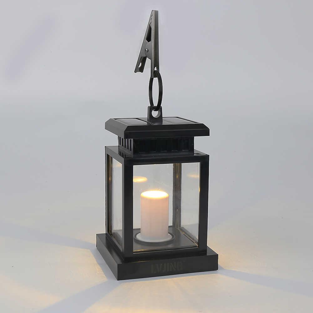 4 шт. 2 шт. 1 шт. Бесплатная доставка! лампы в форме свечи на солнечных батареях для забора, водостоков свет открытый шланг для полива огорода, двора, лампа для дорожек белый + кронштейн