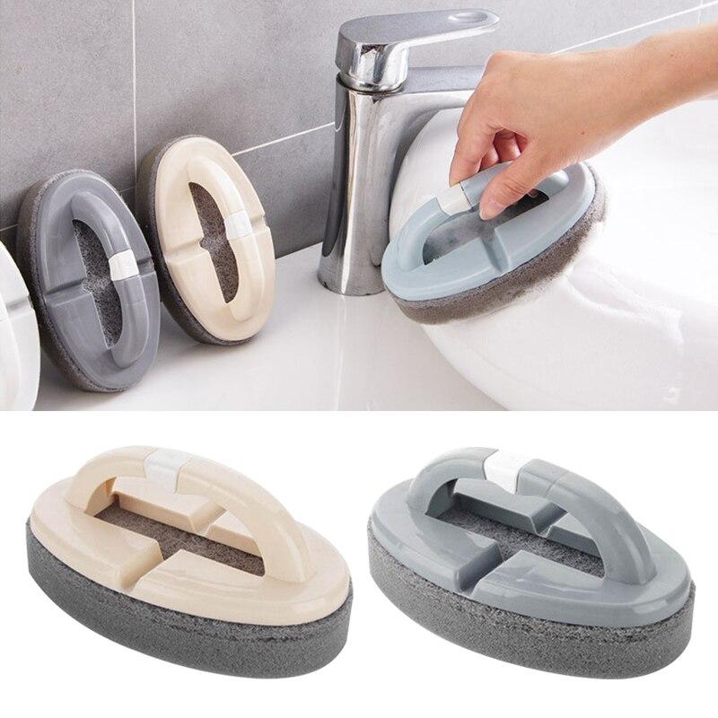 1 PC Dobrável Pote Lavagem de Esponja de Limpeza Esponja Limpa Pincel Mágico Azulejos Do Banheiro Acessórios de Cozinha Utensílios De Limpeza