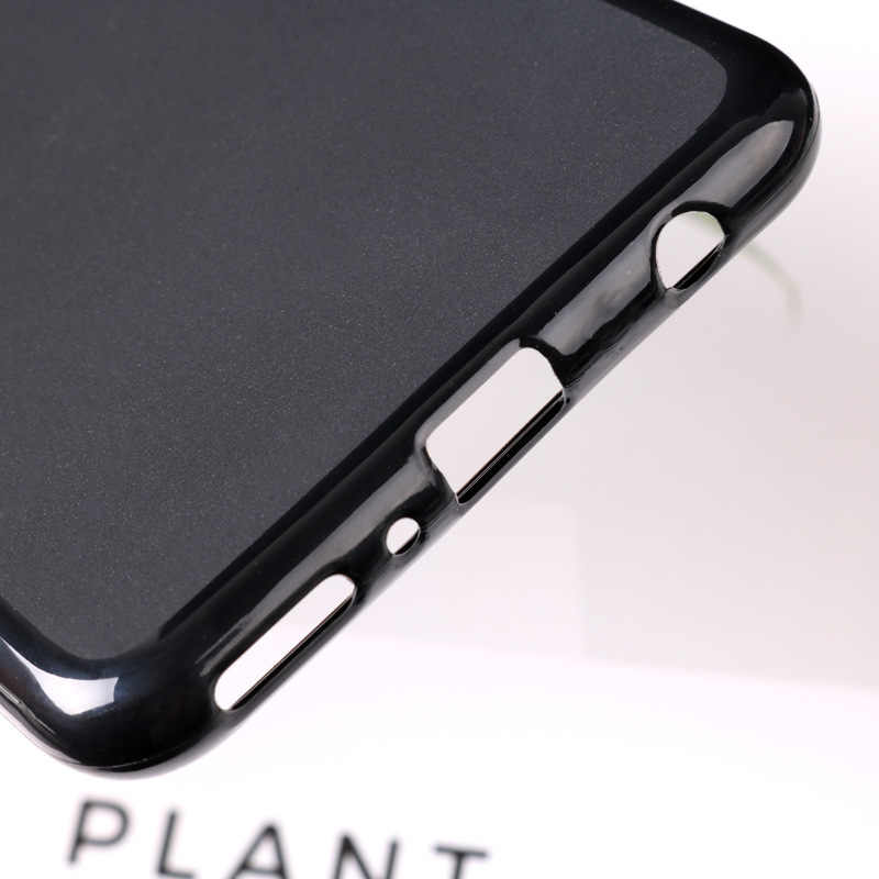 For Huawei Y9 2018 Case Matte Pudding Cover Soft TPU Silicone Shell Bumper Protective Coque Case
