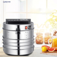 LT 02 Temperature Time Control Stainless Steel Fruit Dehydrator Machine Dryer For Fruits Vegetables Food Processor