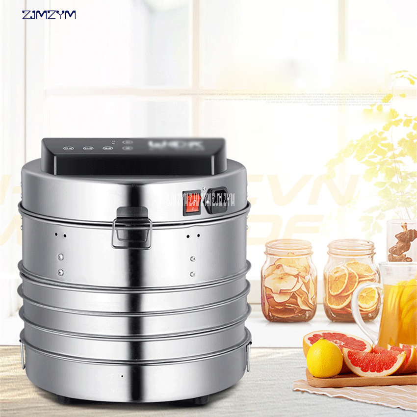 LT-02 Temperature time control Stainless Steel fruit dehydrator machine dryer for fruits vegetables food processor drying meat shanghai kuaiqin kq 5 multifunctional shoes dryer w deodorization sterilization drying warmth