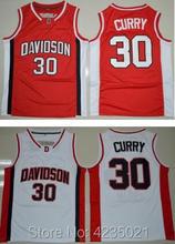 267d1b6c53b Stephen Curry College Jersey 30 Davidson Wildcat Basketball Jersey  Commemorative Sport Shirt All stitched(China