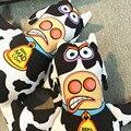 Mascota vaca loca masticar Juguetes trainging squeaker Squeaky Plush sonido del curandero descompresión grande perro mordedura juego suministros producto