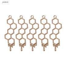 5Pcs New Jewelry Frame Honeybee Planet UV Pendant Open Bezel Setting Resin DIY