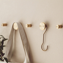 Нордический крючок для пальто, латунные крючки, настенная дверь, вешалка для одежды, пальто, шляпы для спальни, кухни, ванной комнаты